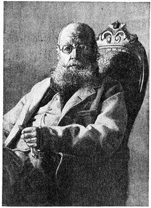 Edward Lear. Engraved by Andrew From a Photograph Taken In San Remo, by Roncarolo.